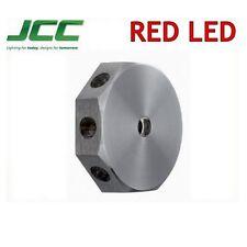 JCC Lavano Mini Wall Light Red 1w LED Designer Feature Lighting IP65 JC71239