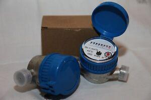 Water meters - flow, cold water (new)
