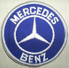 Vintage retro Mercedes Benz Eu Germany continental automobile car patch patches