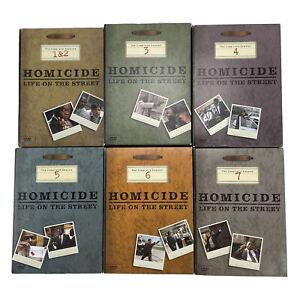 Homicide Life on the Street Complete Series Season 1-7 REGION 1 DVD 34 Discs