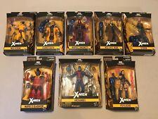 Marvel Legends X-Men Apocalypse BAF Set Of 8 Archangel Psylocke Wolverine