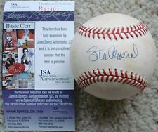 STAN MUSIAL (d 2013) Signed ONL Baseball JSA AUTHENTICATED St. Louis Cardinals