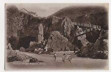 Plemont Bridge & Caves Jersey, J. Welch Postcard #2, M028