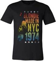 BLONDIE - Made In NYC T SHIRT S-M-L-XL-2XL New Official Hi Fidelity Merchandise