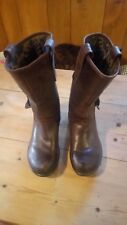 fly london brown womens boots UK size 5.