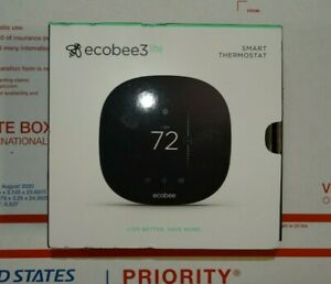 Ecobee3 Lite Wi-Fi Smart Thermostat EB-STATE3LT-02 - NEW -