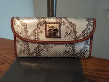 Authentic Dooney & Bourke TV507 Dillen Continental Checkbook Wallet NWT
