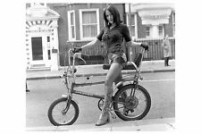 PHOTO TAKEN FROM A 1971 IMAGE OF MODEL ON RALEIGH CHOPPER BIKE