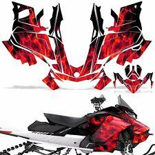 Ski-Doo 850 Renegade Summit Decal Graphic Kit Sled G4 Snowmobile Wrap ICE RED