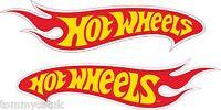 Motorsport Sponsor Exterior Vinyl Sticker Hot Wheels Model Cars Decal Yellow Red