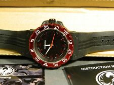 "Men's Watch Infantry Watch Co. IF-014-R-R ""INFILTRATOR"" RED #s, RUBBER BAND"