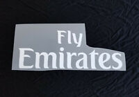 2019 2020 Milan PSG Arsenal FLY EMIRATES Shirt Sponsor Logo Chest Print Patches