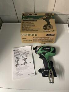 Hitachi WH 18DBDL Akku Schlagschrauber