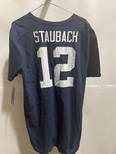 Dallas Cowboys Roger Staubach Shirt Men's Fanatics navy blue