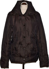 Zara Down Jacket Size L Brown Jacket Womens Jacket