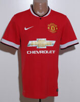MANCHESTER UNITED 2014/2015 HOME FOOTBALL SHIRT JERSEY NIKE SIZE S ADULT
