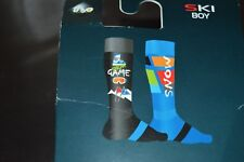 LOT 2 PAIRES CHAUSSETTE MI-BAS THYO DE SKI SNOW  27/28/29 NEUF LAINE SOCK/CALCET