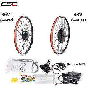 "Cycling Motor  27.5"" 28"" 29"" 700C 48V 1500W Conversion Kit Cycling Motor"