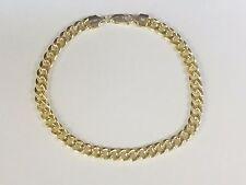 "14k Yellow Gold Miami Cuban Curb Link 8.5"" 4.5mm 5 grams Bracelet HMC120"