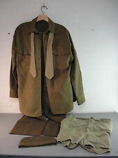 USA ARMY WWII MILITARY AUTHENTIC UNIFORM E5 SGT SHIRT PANTS BOXERS HAT TIE LOT 5