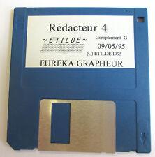 EUREKA GRAPHEUR Redacteur 4 Complement G - Etilde 1995 - Logiciel pour ATARI