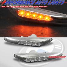 Set of Pair LED Side Marker Lights for 2002-2005 BMW E46 3-Series 4dr Sedan