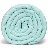 10lbs 41'' x 60'' Premium Cooling Heavy Weighted Blanket Soft Fabric Light Green