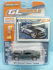 334 GREENLIGHT / GL MUSCLE / CHEVROLET CAMARO SYNERGY 2011 + ACCESSOIRES 1/64