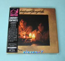 Longbranch Pennywhistle S/T JAPAN MINI LP CD style with OBI Glenn Frey Eagles