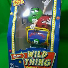 M&M's Wild Things Roller Coaster Candy Dispenser Limited Edition 2nd Edition NEW