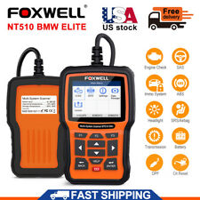 NT510 Elite for BMW Full System ABS DPF TPMS ECU Coding Diagnostic Scanner Tools