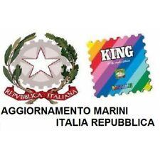 2019 FOGLI AGGIORNAMENTO MARINI ITALIA REPUBBLICA  MOD KING NUOVO MF44376