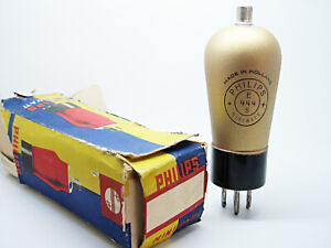 1 x NOS Philips E444S - REN924 Test VERY STRONG Vintage Diode Triode Radio Tube