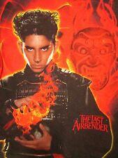LAST AIRBENDER youth med T shirt 2010 fire M. Night Shyamalan tee Avatar film