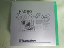 Hansaton Hadeo Soft Set Cleaning Set für Ohrstücke Reiniger Hörgeräte