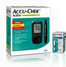 Accu-Chek Active Glucose Monitor with 10 Strips Glucometer Free Shipment