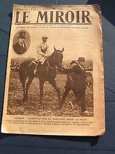 Le miroir 1920 prix du jockey club ROUEN INDOCHINE NOGENT SUR MARNE MOTOCYCLETTE