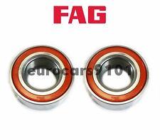 FAG (2) Front & Rear Wheel Bearings 4D0407625E 800941C