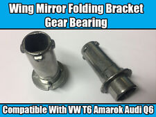 1x Wing Mirror Metal Bracket Gear Bearing Inner Bush For VW T6 Amarok Audi Q6
