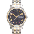 Timex T26481, Easy Reader, Men's, 2-Tone Expansion, Date, Indiglo, T26481J