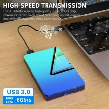 ABS color HDD 2.5 1TB external hard drive 1TB 2TB storage device hard drive for