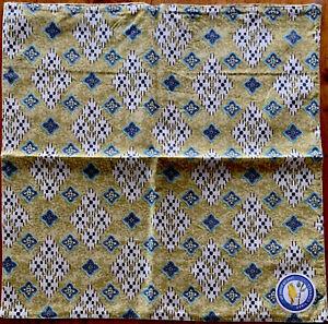 NEW April Cornell Pillow Cover 100% Cotton Diamond Ikat INDIA