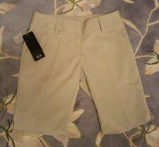 NEW Adidas Climalite 2 Tan Golfing Walking Bermuda Shorts Flat Front ARV $70