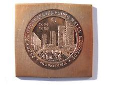 H. Re, 1989 (e722) Halle/Saale città stemma ha-NUOVO LANTERNE fisso CU-SCOGLIO P