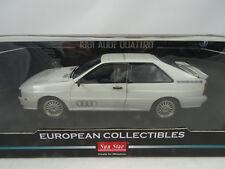 1:18 Sunstar # 4155-1981 Audi Quattro Alpine Blanco - RAREZA§