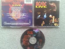 AC / DC LIVE 1992 GERMAN COLLECTORS SINGLE CD EDITION ANGUS YOUNG