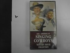All American Singing Cowboys Western Movie Collection Rogers Ritter Autry Video
