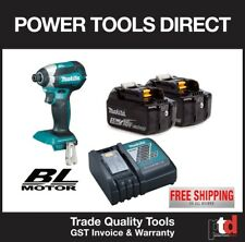 NEW MAKITA 18V IMPACT DRIVER CORDLESS BRUSHLESS DTD153Z - 3AH BATTERY KIT