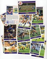 MERLIN Rugby League COLLECTION 1991 COMPLETA TEAM Sub Set di 14 Leeds FIGURINE