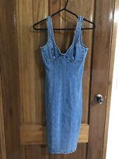 Bardot Miami Denim Dress Size 6 BNWT